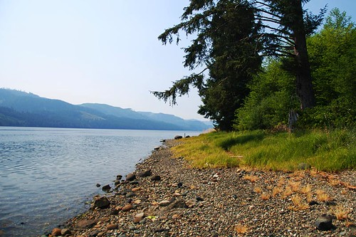 Holberg Inlet at Coal Harbour, Vancouver Island, British Columbia
