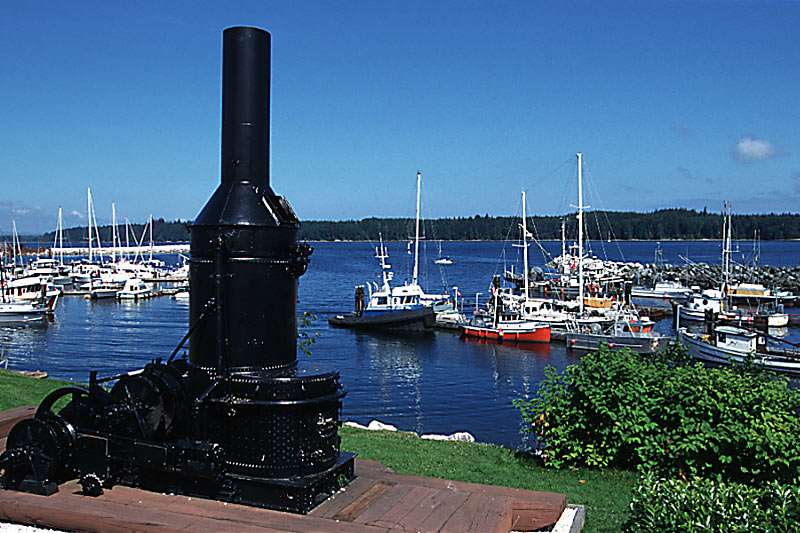 Port McNeill Harbour, Port McNeill, Vancouver Island, British Columbia, Canada