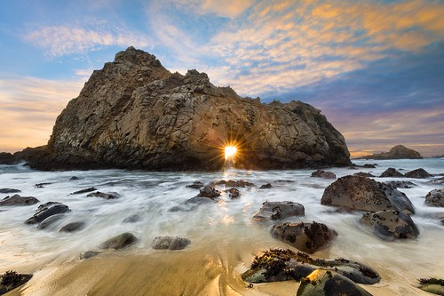 Keyhole Arch - Pfeiffer Beach, California | by Mike Mezeul II Photography