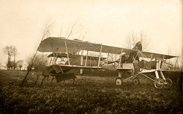 The captured Voisin Canon serial V.991 at Woumen [10 January 1916]