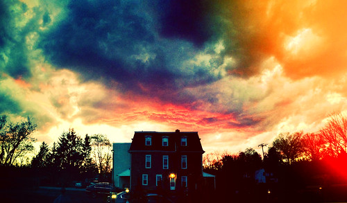 sunset sky storm clouds hotel tramonto nuvole surreal cielo scotto temporale jarrettown iphone5 fedesk8 federicoscotto
