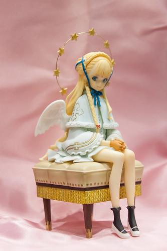 WindFlower LITTLE WORLD2表紙の女の子01   by 空条HYO太郎ヲ
