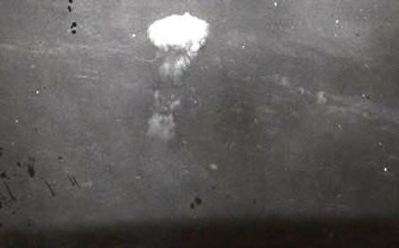 Imagen inédita de la explosión de little boy