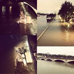 Paris coule-t-il? #crue #seine #paris #parisnow #zouave