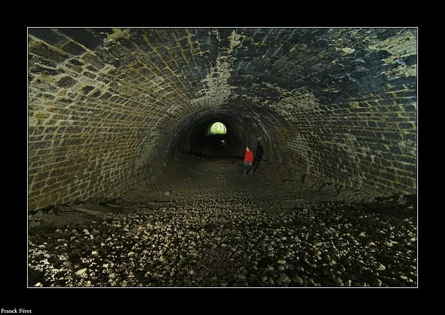 Tunnel de l'Ancienne voie ferrée - Marnoz - Jura