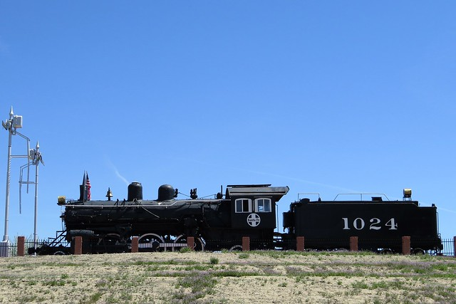 Steam Locomotive 1024