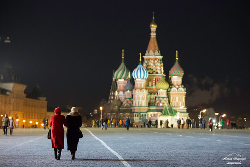 Lady in Red @ Red Square | by HakanGil
