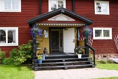 Villa Långbers hotellentré