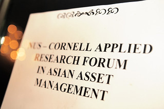 NUS-Cornell Applied Research Forum in Asian Asset Management, 1 March 2011