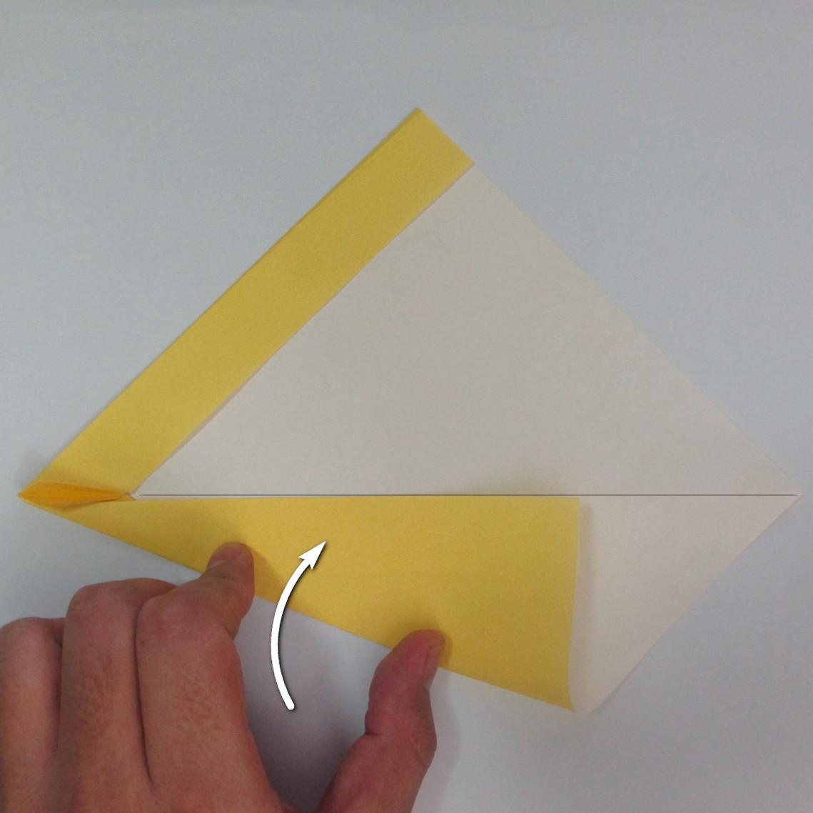 สอนวิธีพับกระดาษเป็นรูปลูกสุนัขยืนสองขา แบบของพอล ฟราสโก้ (Down Boy Dog Origami) 024