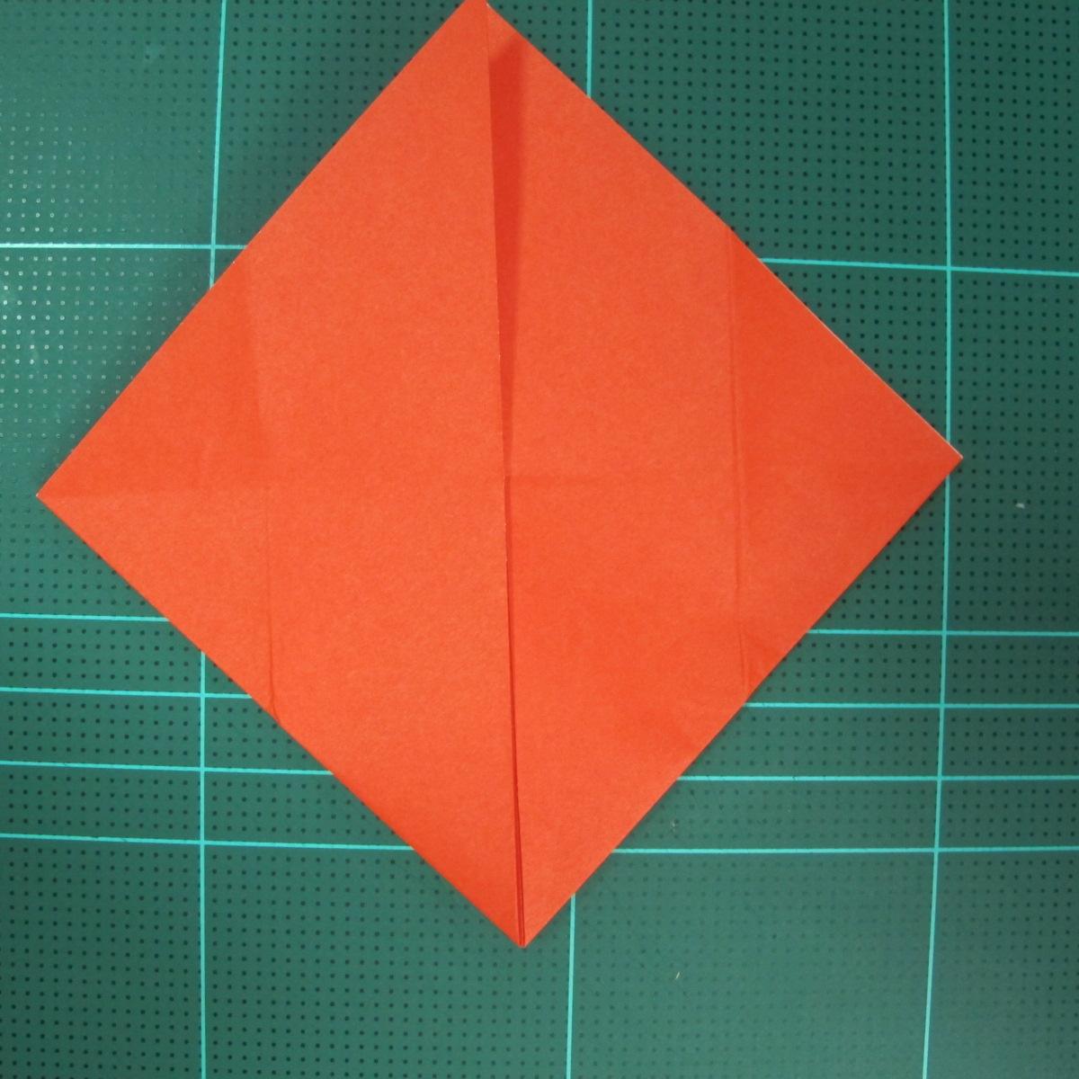 การพับกระดาษเป็นนกพิราบ (Origami pigeon) 00008