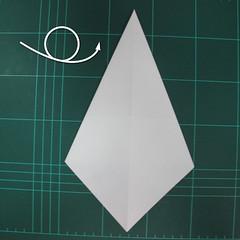 วิธีพับกระดาษเป็นรูปปลาแซลม่อน (Origami Salmon) 004