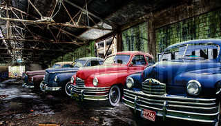 Once the pride of the Packard factory, now just Ghosts in the Machine | by hz536n/George Thomas