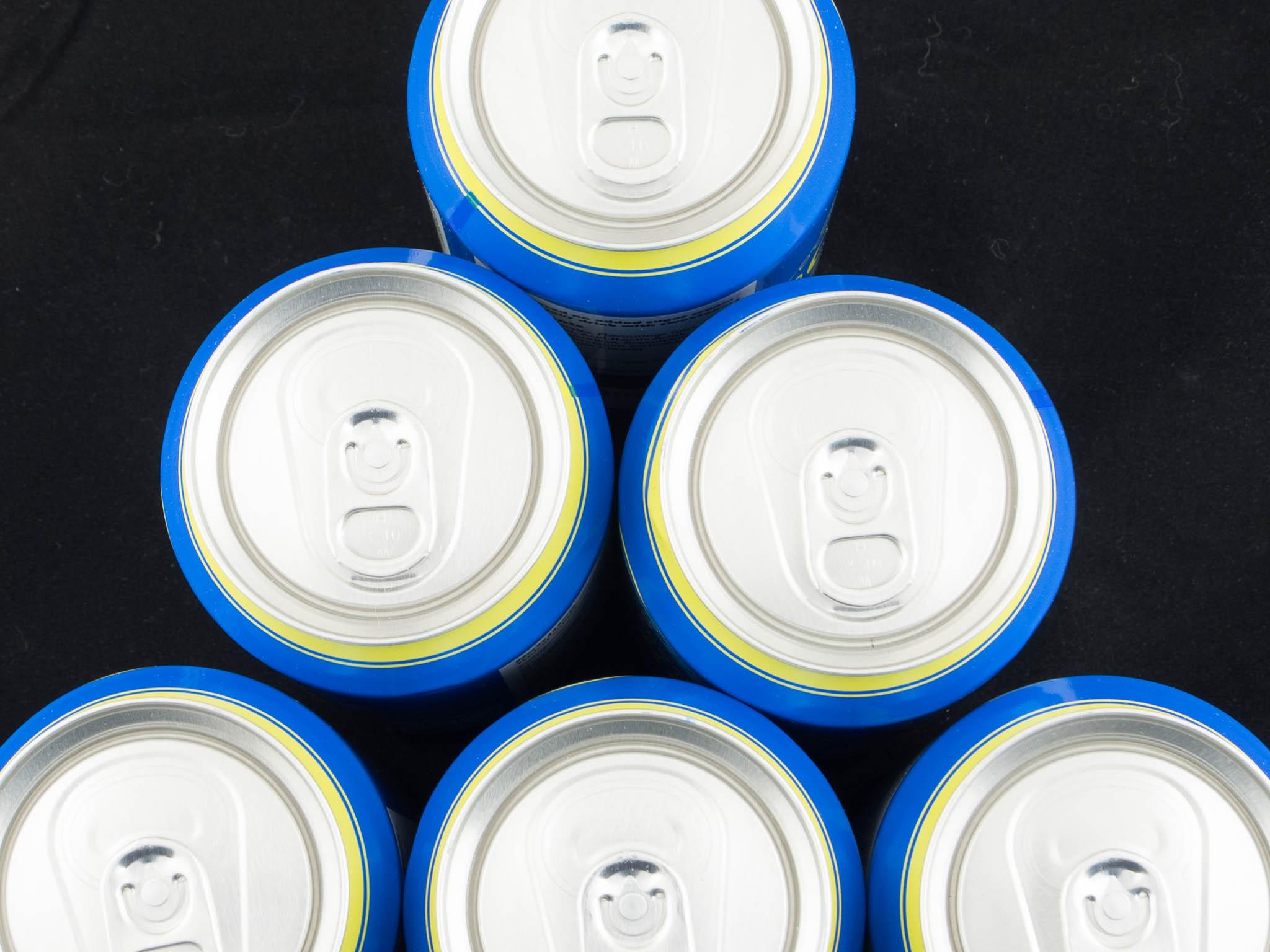 Cans still life