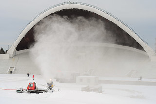 Snow cannon on The Tallinn Song Festival Grounds | by tat.aks
