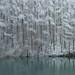 深沢ダムの雪景色