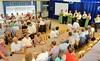 Nach dem ersten Teil der Veranstaltung wird in der Pause die Jahreshauptversammlung des Kreisverbandes Karlsruhe stattfinden