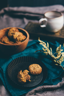 carrot cookies with buckwheat | by Ivana Rosario ·