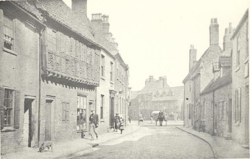 Highgate looking towards Wednesday Market circa 1900s (archive ref DDX1525-1-3)