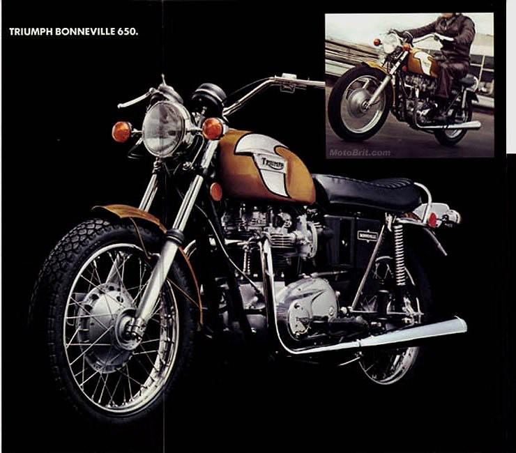 1972 Triumph Bonneville Gold And White Black Lined T120 Flickr