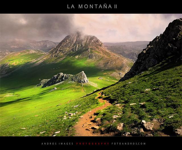 LA MONTAÑA II. Bajando de Peña Ubiña 2419 m. // MOUNTAIN II. Descending from Peña Ubiña 2419 m