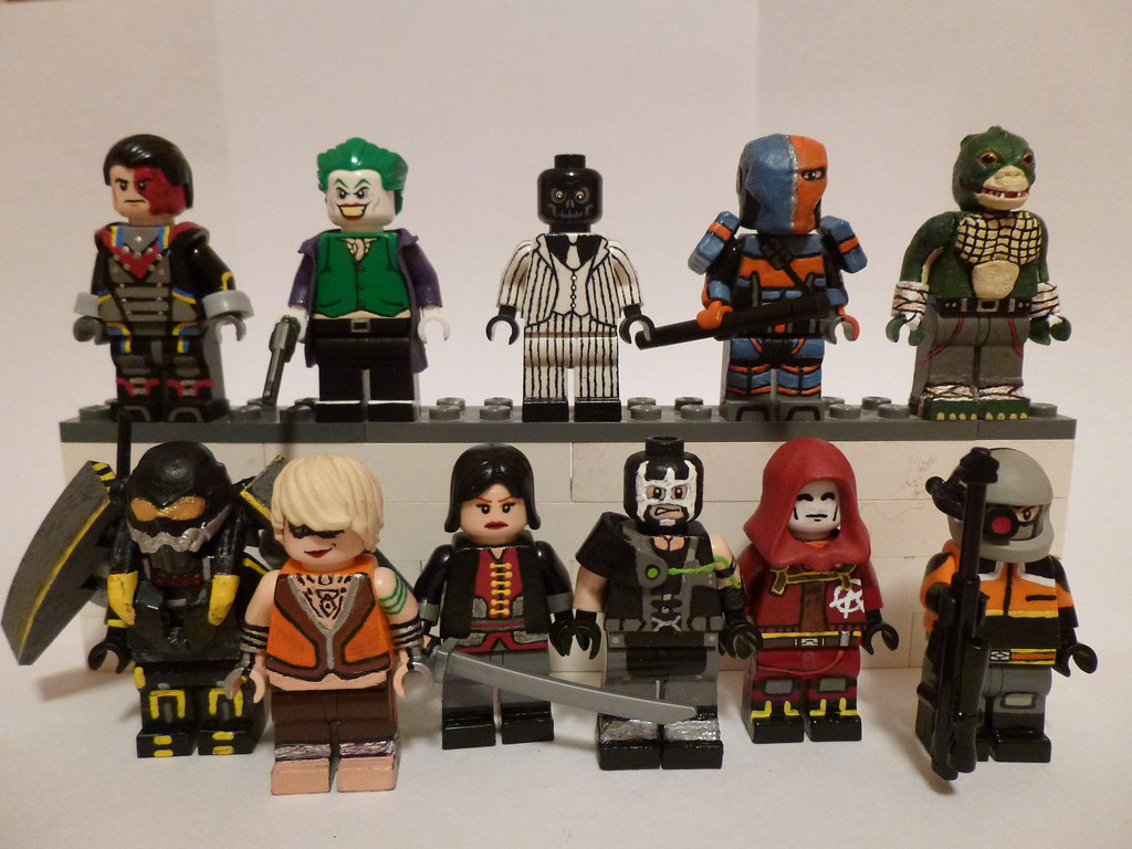 By themoosefigs lego batman arkham origins collection read description by themoosefigs