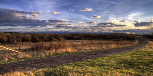 canada calgary rural landscape kananaskis scenery farm alberta prairie foothill