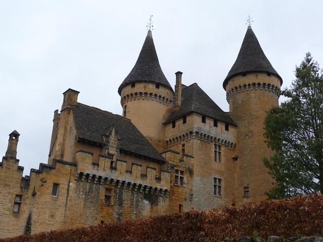 Castillo de Puymartin (Perigord, Francia)