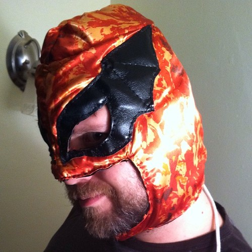 The Luchador Project, Prototype #10: The Crimson Bat | by Jared Axelrod