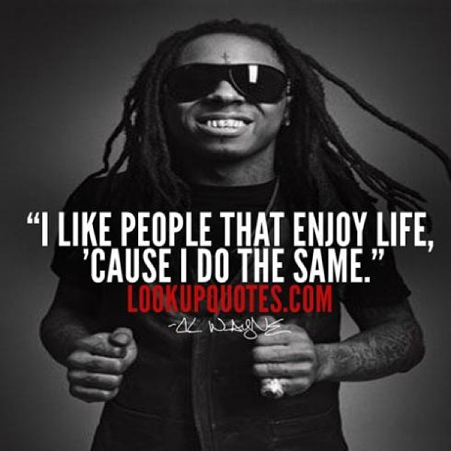 Awe Inspiring Lilwayne Lilwaynequotes More Lil Wayne Quotes At Loo Flickr Funny Birthday Cards Online Inifodamsfinfo