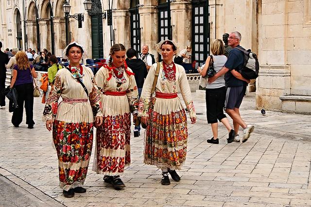 Costumi nazionali Croati