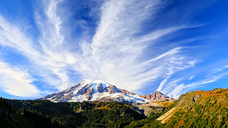 Mt. Rainier from Stevens Canyon Road | by louelke - on and off