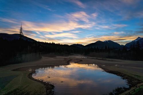 sunrise whistler seatosky beautifulbc cloudsstormssunsetssunrises