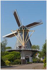 De 's-Gravenzandse 'Molen van Maat' ....