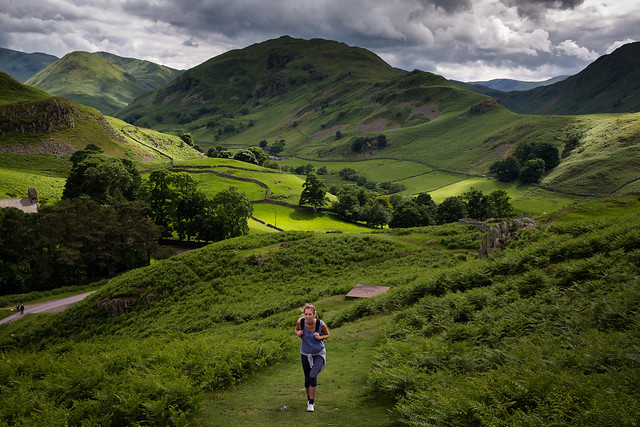 Near Howtown, in the English Lake District-8195