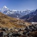 Lobuche Khola Valley