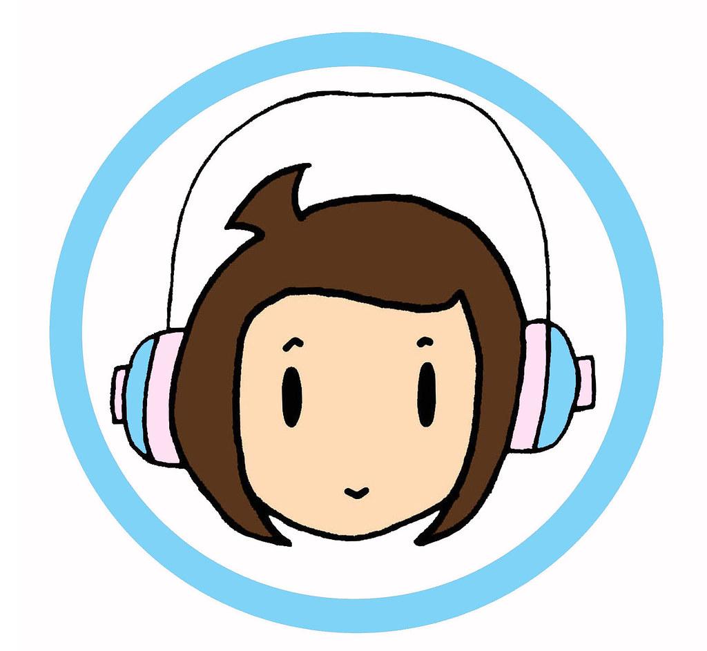 B Pop Headphones Music Player Girl Superhero Comic Sd Cart Flickr
