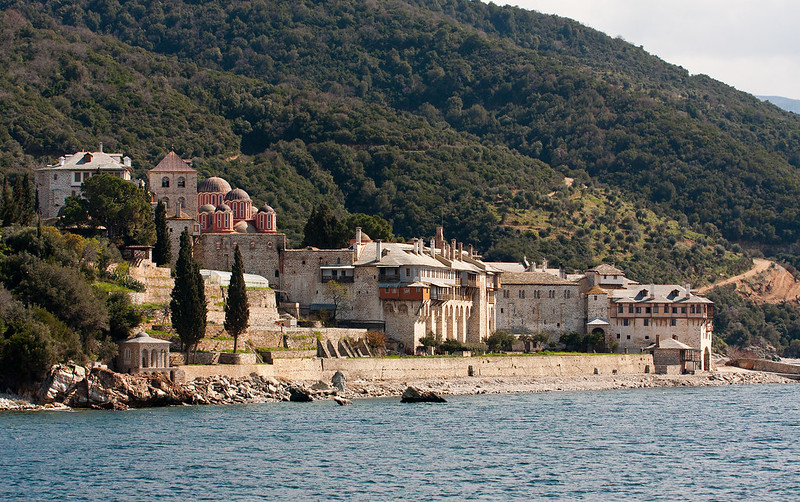 Mt Athos Xenophontos monastery