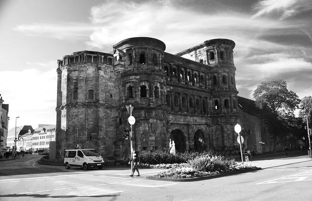 Roman Gate in Trier Germany