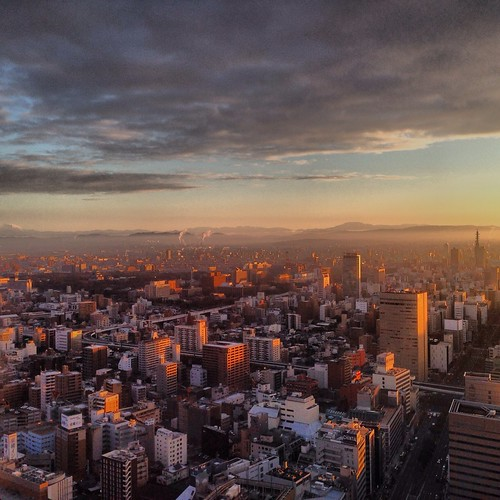 japan sunrise nagoya 日本 名古屋 instagram uploaded:by=flickrmobile flickriosapp:filter=nofilter