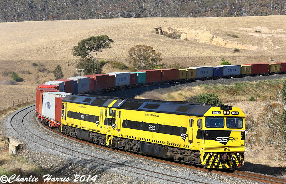SSR G513 G514 on 1877 Locksley sm on Thursday 23-01-2014 by Charlie Harris