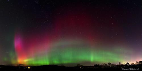 scotland aberdeenshire aurora northernlights banchory merrydancers
