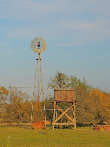 sunset usa windmill rural spring texas pasture watertank barbedwirefence goldenhour hww wallercounty texasscenes texasbackroad