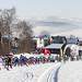 Jilemnicka 50, start 20 km volna technika, vitez Miroslav Dvorak, Stopa pro zivot, foto: Stopa pro život