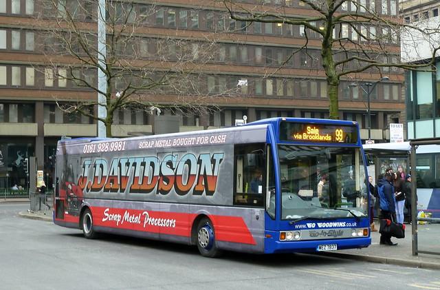 UK - Manchester bus