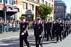 HMCS Discovery March Past