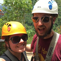 Yesterday we zip-lined in Samana National Park. The views were phenomenal and the lines were exhilarating!