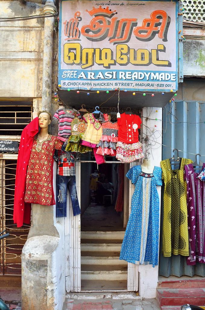 India - Tamil Nadu - Madurai - Tailor Shop - 11 | Madurai is