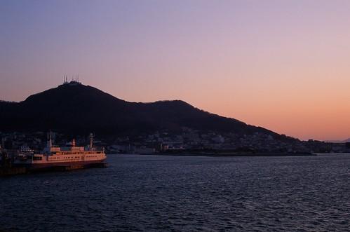 sunset film hokkaido harbour hakodate rvp50 fdreviewc9 fdreviewl238