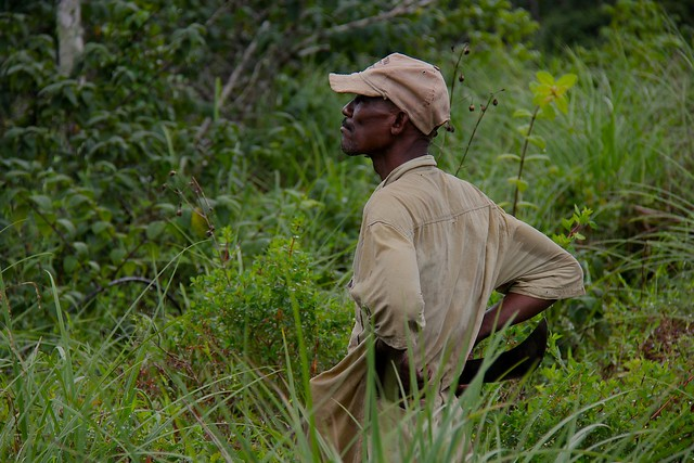 Gola Forest Guard - Sierra Leone © Oli Brown: UNEP: 2011